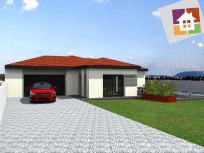 Maison Plain Pied Avec Garage. Fabulous Divinement Plan Duune Maison ...